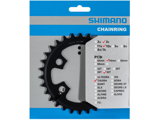 Shimano Tiagra FC-4703 Kettingblad 10-speed MM, black
